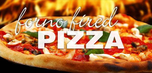 Forno fired pizza Flying Canoe Courtenay